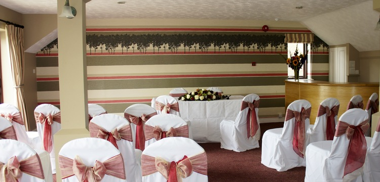 Civil Ceremony in the ' Oak Room'